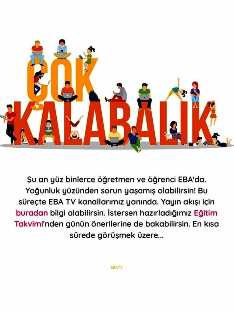 EBA TV Kalabalik